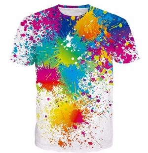 Valhalla®  3D Graphic T-Shirts Golden eye Paintball